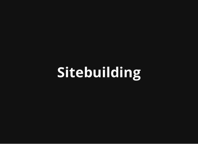 Building Drupal 8 Sites