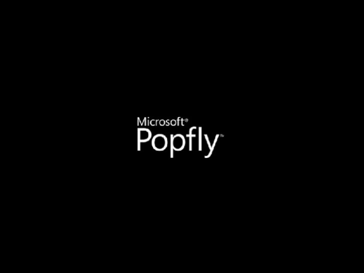 Building Facebook Apps with Popfly, Silverlight, and ASP.NET