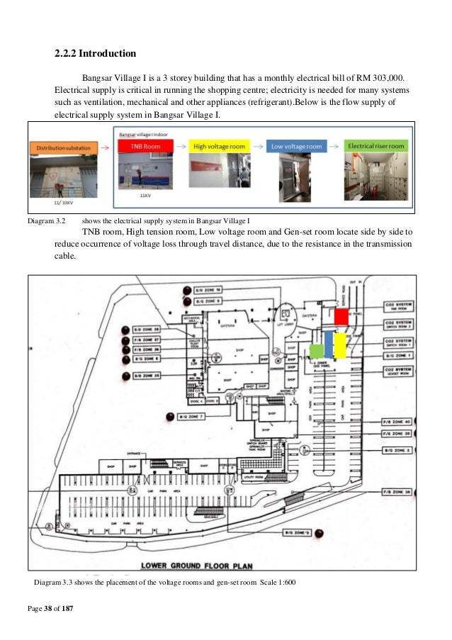 Lv Schematic Wiring Diagram Of The Residential Building : Bs building services bangsar village