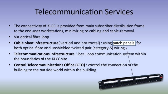 Building Services Telecommunications For High Rise Building
