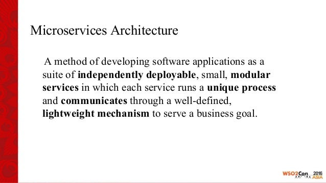 Building Services with WSO2 Microservices framework for Java and WSO2 AS Slide 3