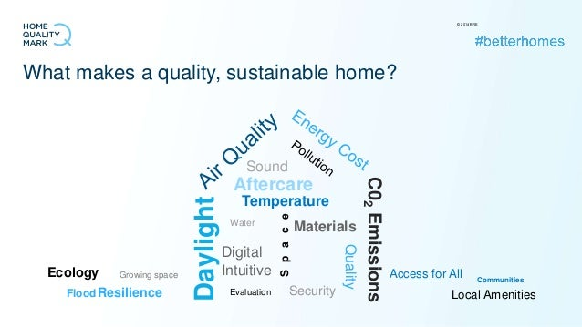 what do people want from their new quality, sustainable homes?