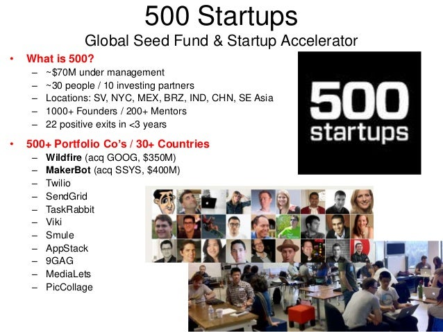 500 Startups Global Seed Fund