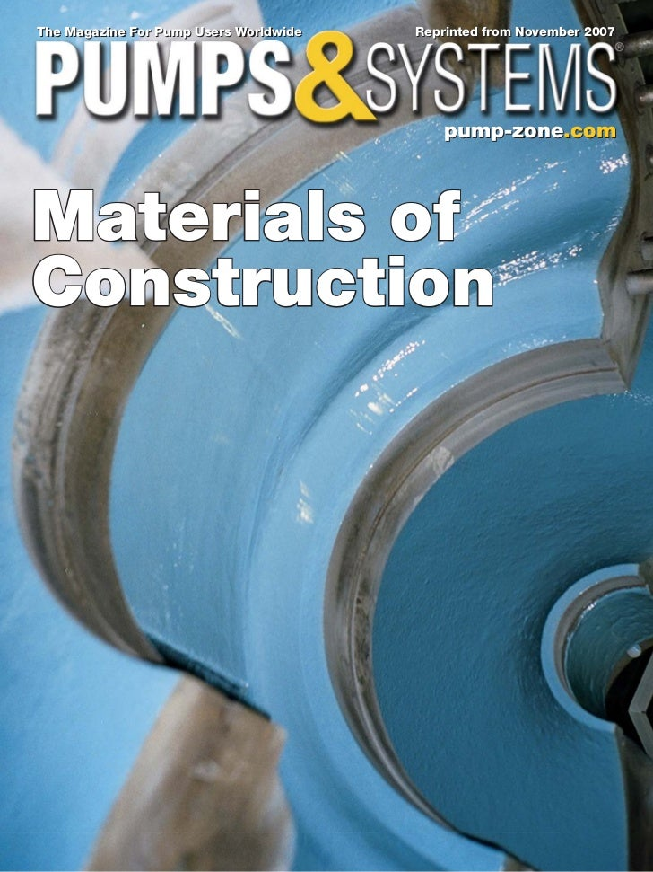 The Magazine For Pump Users Worldwide   Reprinted from November 2007                                           pump-zone.c...