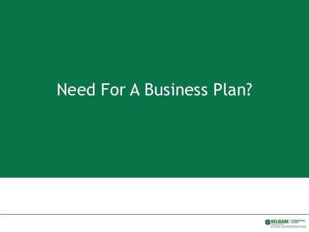 Need For A Business Plan?