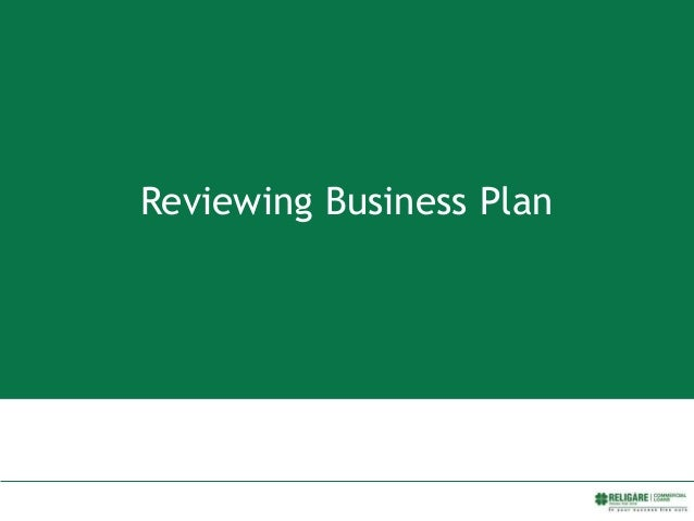 Reviewing Business Plan