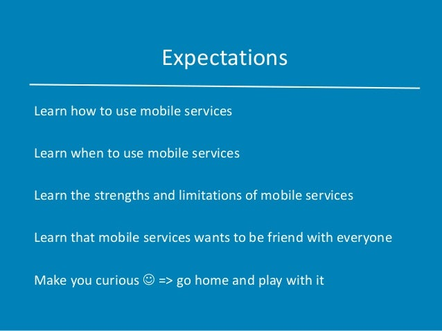 Building a chat app with windows azure mobile Slide 3