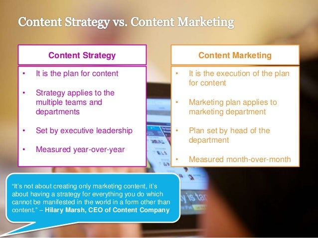 WEBINAR] Key Elements for Building A Content Strategy