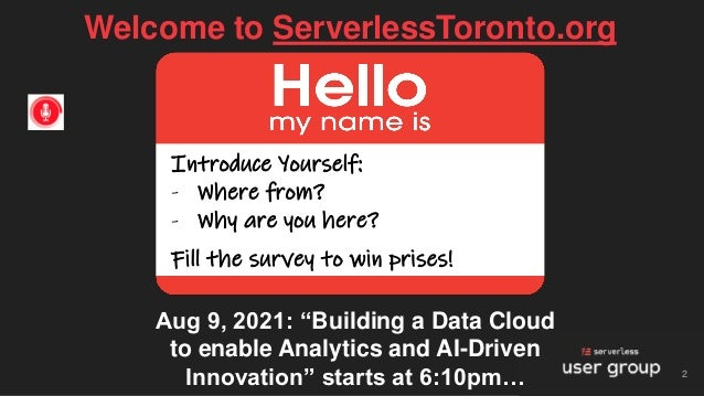 Building a Data Cloud to enable Analytics & AI-Driven Innovation - Lak Lakshmanan Slide 2