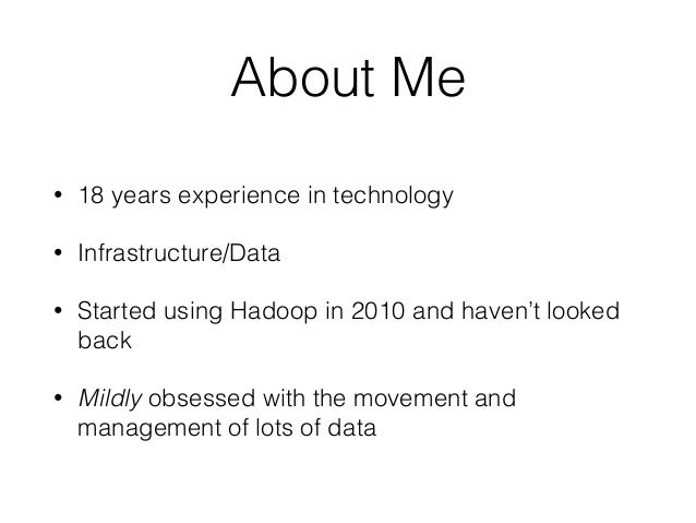 Building A Data Pipeline With Tools From The Hadoop