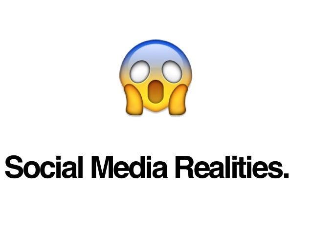 Social Media Realities.
