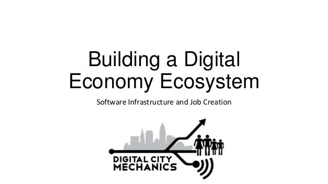 Building a Digital Economy Ecosystem Software Infrastructure and Job Creation