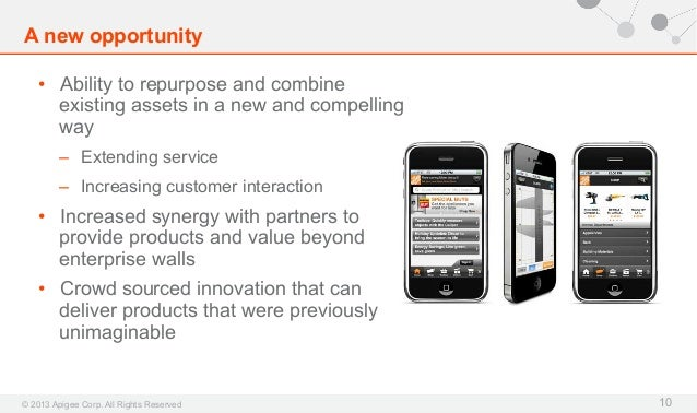 A new opportunity • Ability to repurpose and combine existing assets in a new and compelling way – Extending service – ...