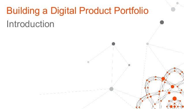 Building a Digital Product Portfolio Introduction  5 d