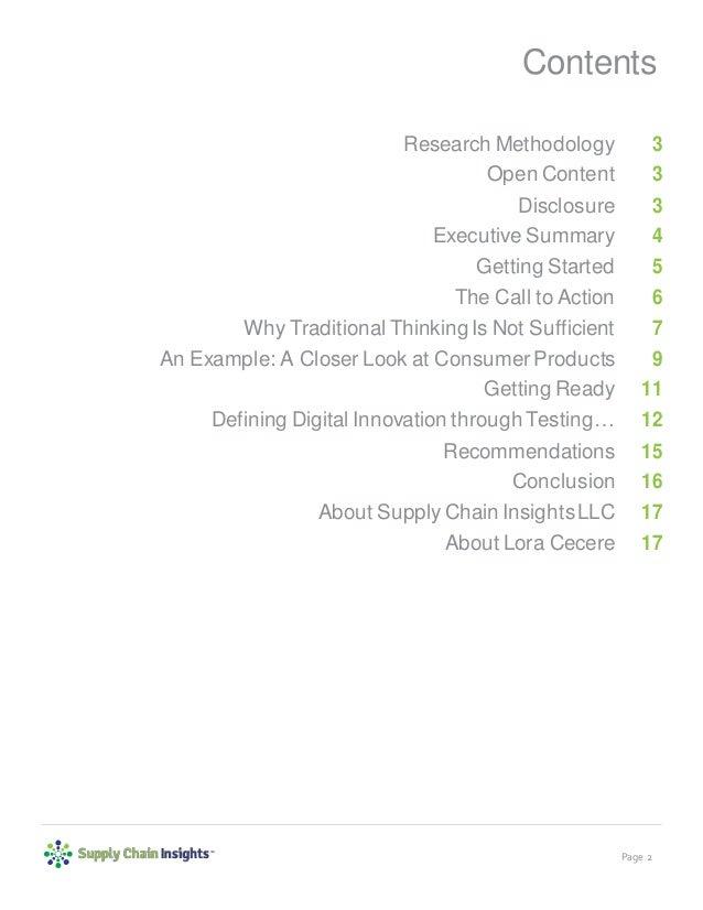 Building a Digital Supply Chain - report - 9 APR 2018 Slide 2