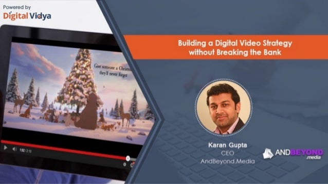 Building a Digital Video Strategy 