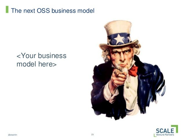 23@atseitlin The next OSS business model <Your business model here>