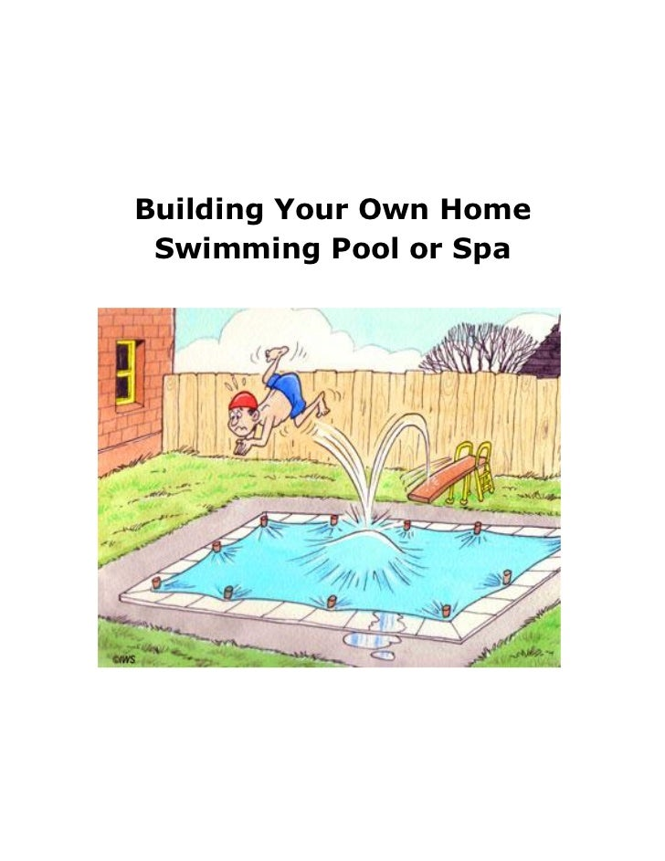 Turn your backyard into your own private paradise by for Constructing your own home