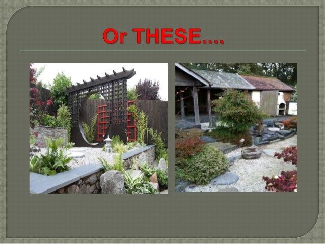 2.  Japanese gardens ...