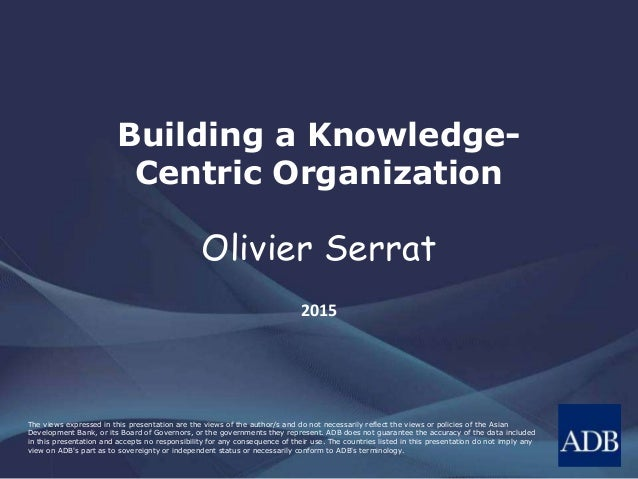 Building Knowledge – Based Society