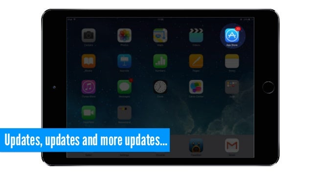 Updates, updates and more updates…