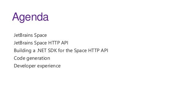 Building a friendly .NET SDK to connect to Space Slide 2