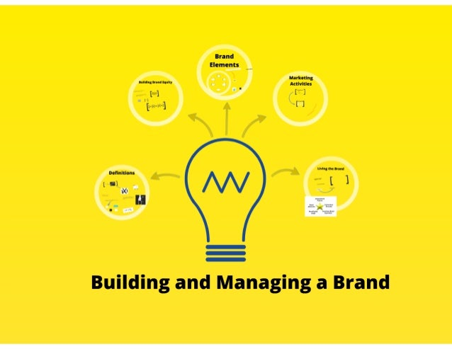 Building and Managing a Brand by Patti Girardi