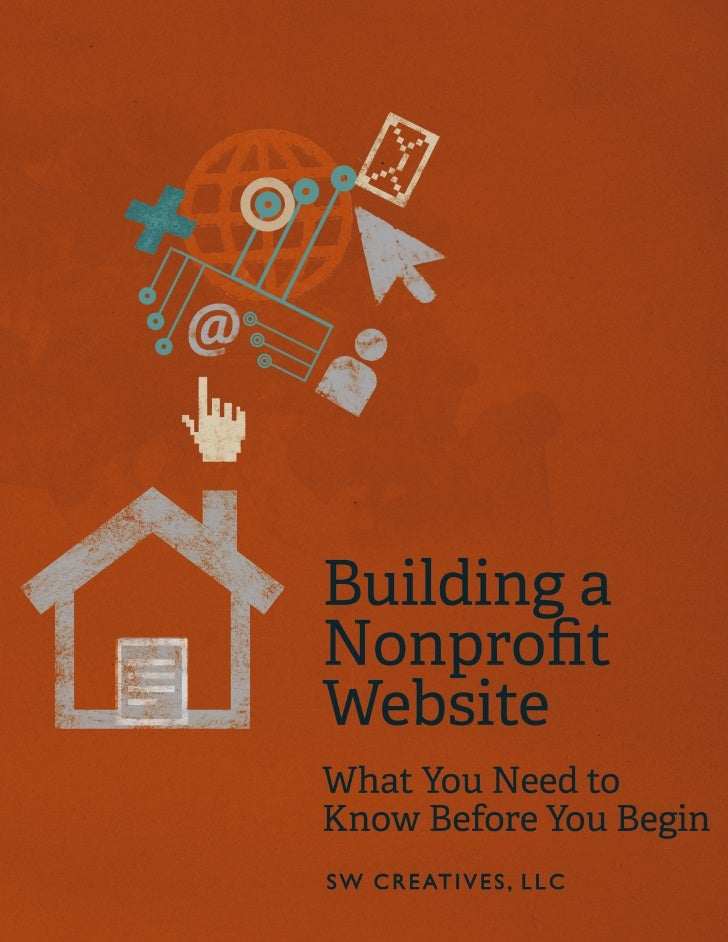 Building a Nonprofit Website e IA White Paper by SW Creatives, LLC