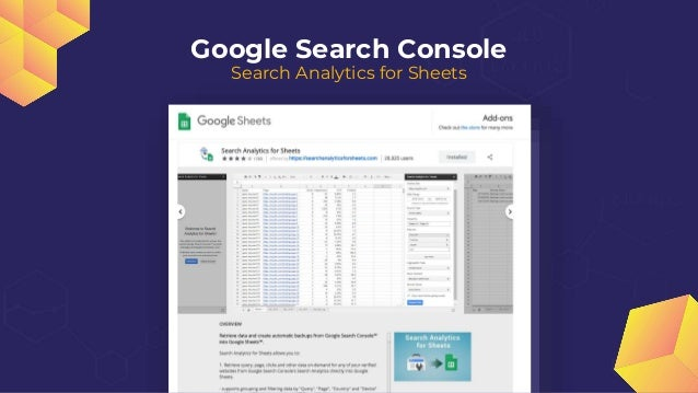 Google Search Console Full Export