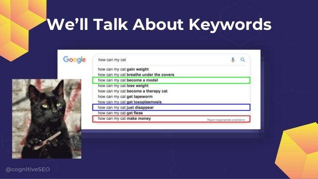 We'll Talk About Keywords