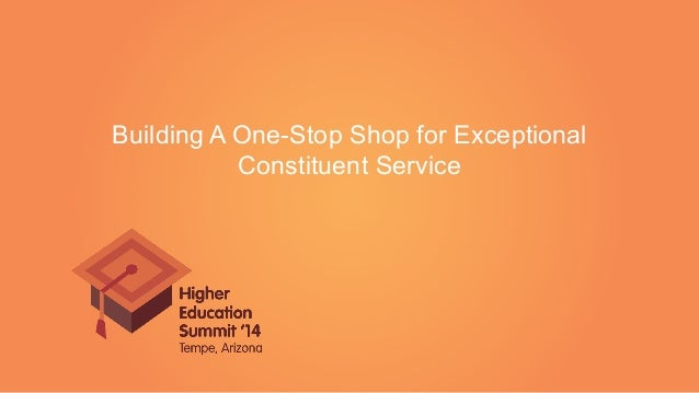 Building A One-Stop Shop for Exceptional Constituent Service