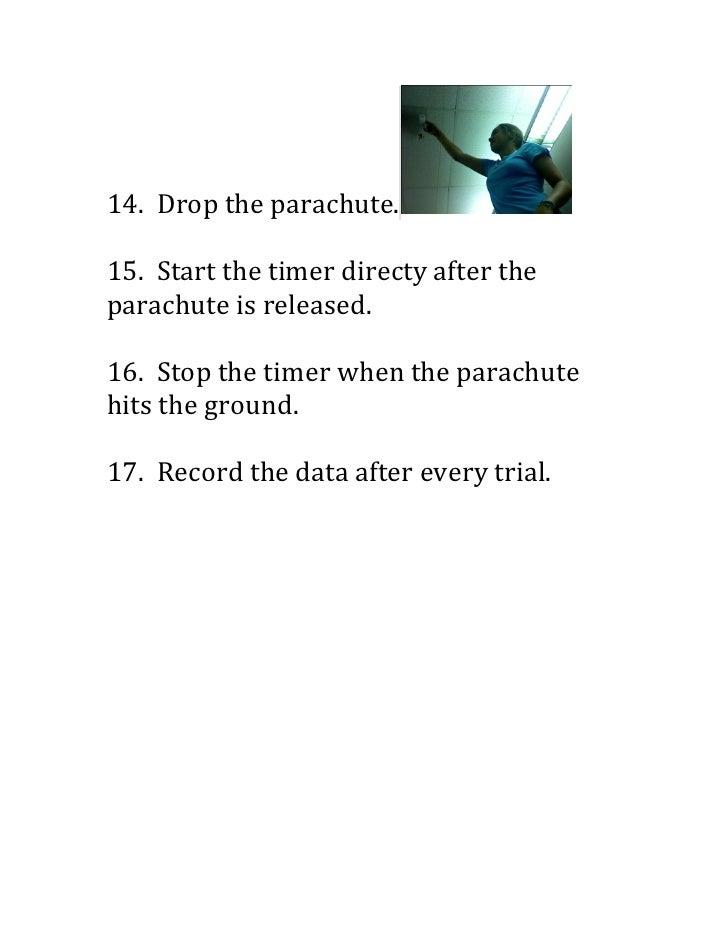 Building A Parachute Procedure Pdf
