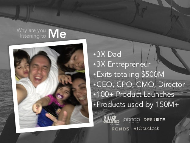 Building A Product People Love  - Yaron Samid - April 21, 2017 Slide 2