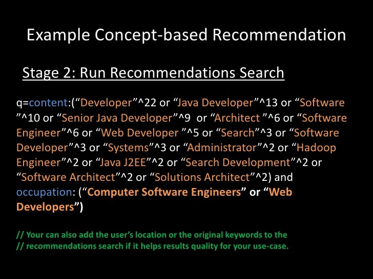 Building a real time, solr-powered recommendation engine