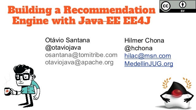 Building a Recommendation Engine with Java EE
