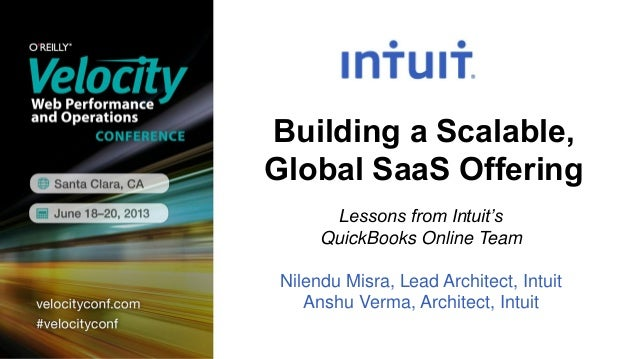 Velocity Conference: Building a Scalable, Global SaaS