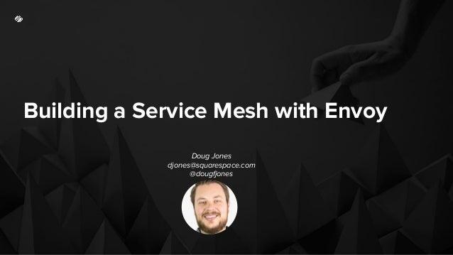 Building a Service Mesh with Envoy Doug Jones djones@squarespace.com @dougfjones
