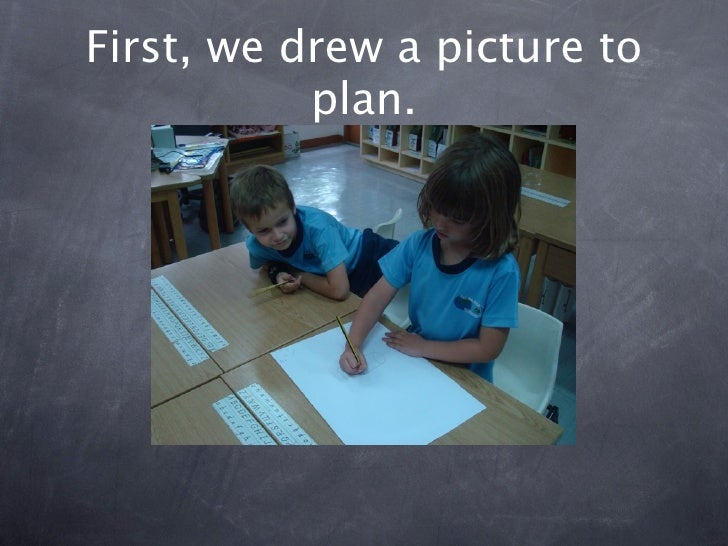 Building a structure with newspaper Slide 2