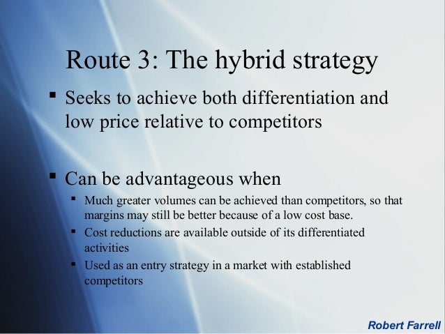 Image result for Hybrid Strategy