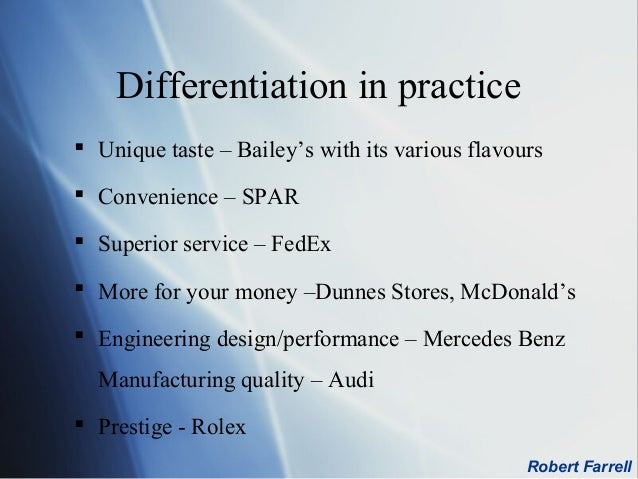 "rolex differentiation strategy Marketing strategies of rolex by haseeb | dec 12, 2015 | marketing strategies | introduction hans wilsdorf and alfred davis were the inventors of the ""rolex company"" launched in 1905."