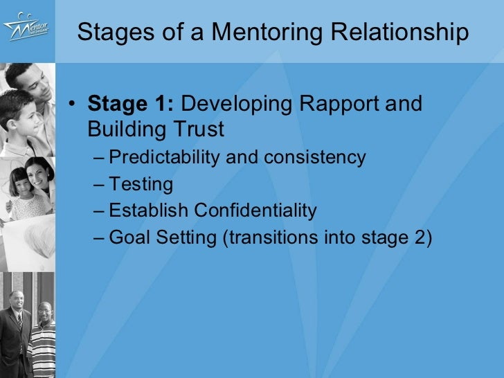 building trust in a mentoring relationship closure
