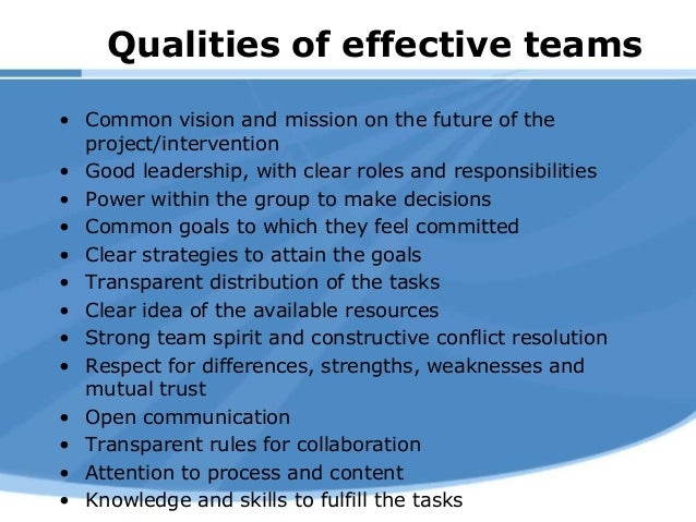building successful teams essay Build a positive and high-performing sports team culture by dr jim taylor or winning or whether it promotes individual accomplishment or team success.
