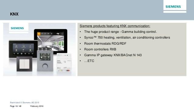 building automation standards and integration. Black Bedroom Furniture Sets. Home Design Ideas