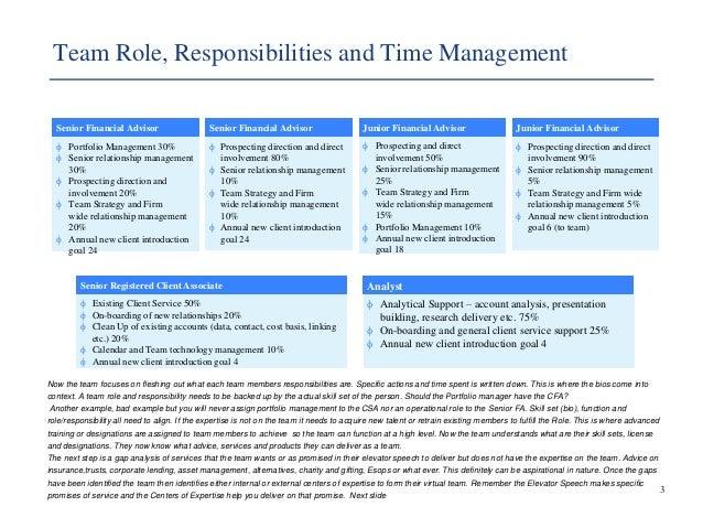 Building a Wealth Management Profile