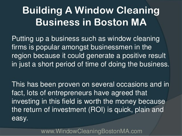 how to start a cleaning business in ma