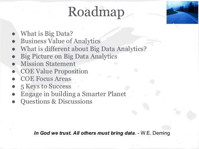 Building Big Data Analytics Center Of Excellence  Slide 3