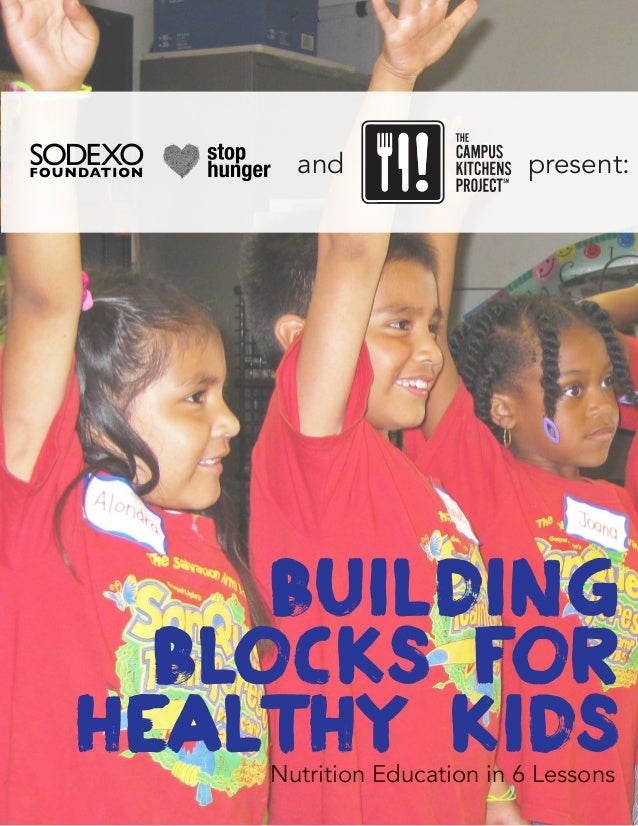 Building blocks for healthy kidsNutrition Education in 6 Lessons present:and