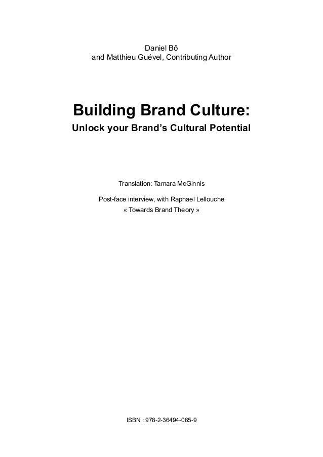 Building brand culture extrait Slide 2