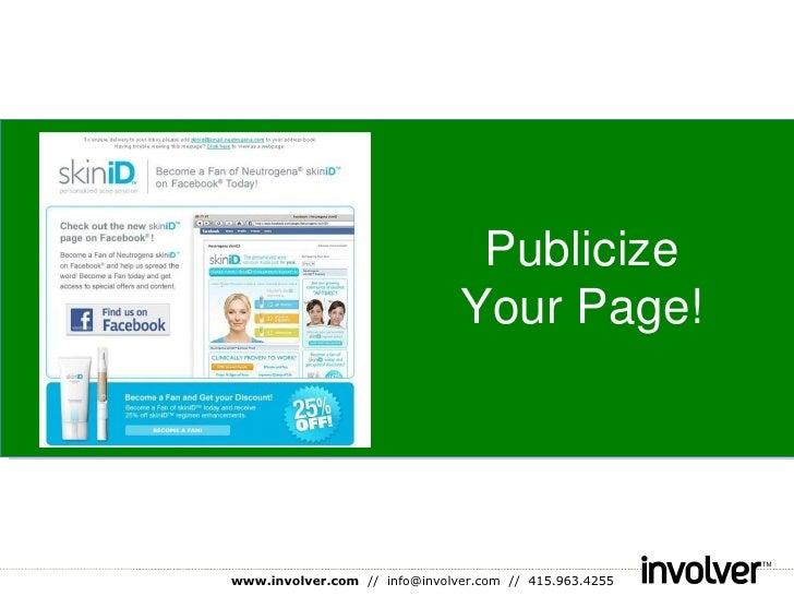 Publicize Your Page!