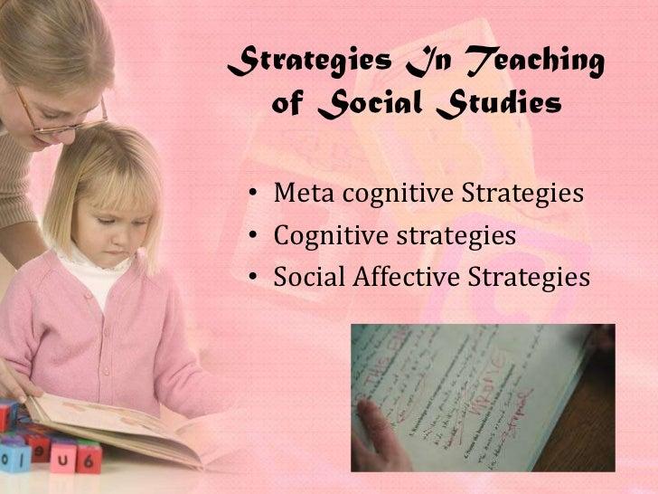 approaches in teaching social studies pdf